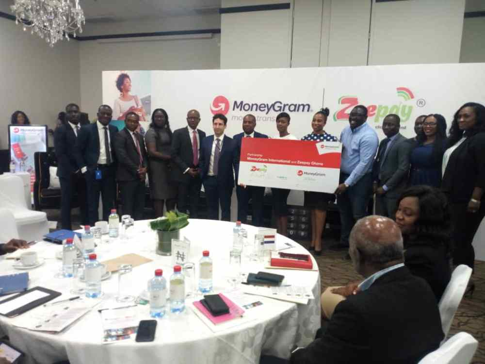 Zeepay partners with MoneyGram for mobile money transfer in Ghana