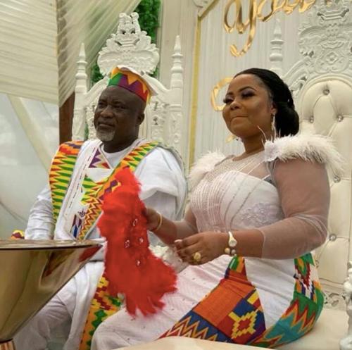 Gifty Osei & Hopeson Adorye wedding1