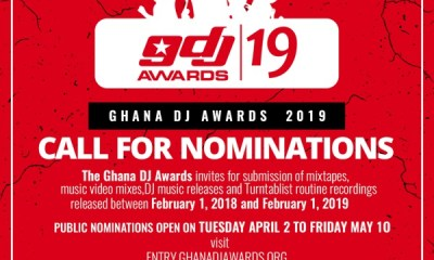 Ghana DJ Awards 2019 now open for nominations