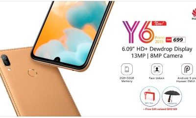 Huawei Y6 Prime 2019 Available Exclusively On Jumia