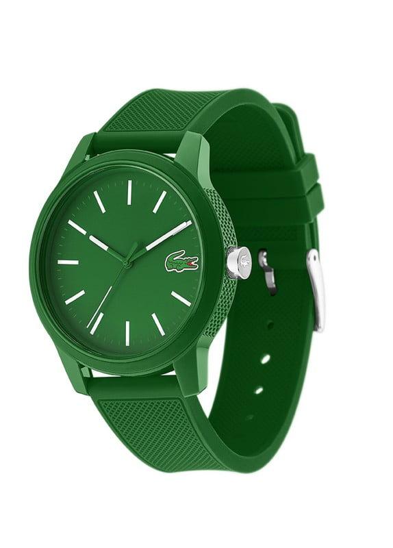 lacoste horloge 12.12 groen heren LC2010985
