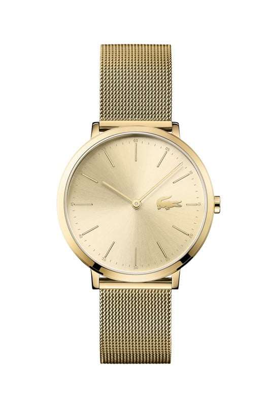 lacoste horloge dames moon ultra slim lc2001000