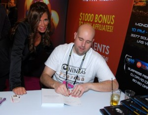 •	Jeremy Schoemaker's Book Signing at Affiliate Summit West 2013