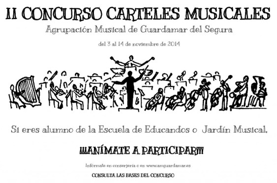 CARTEL II CONCURSO CARTELES MUSICALES