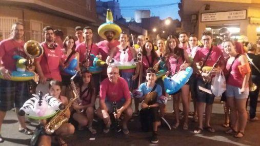Antes de actuar en el Desfile Multicolor