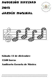 AUDICIÓN NAVIDAD JARDÍN MUSICAL 2015