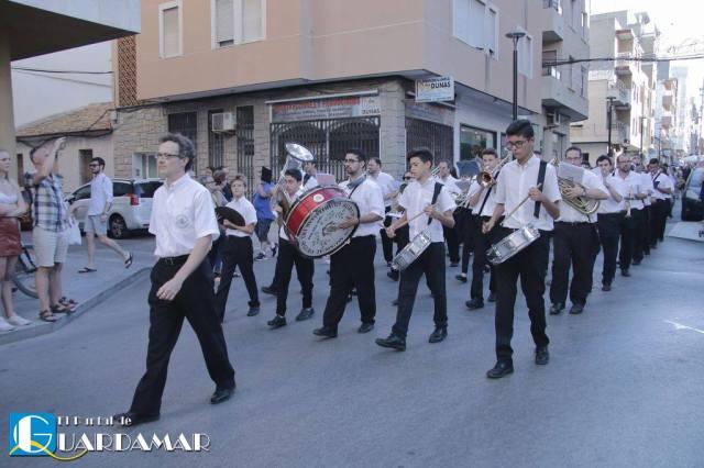 Pasacalles previo Concierto Fiestas 2016