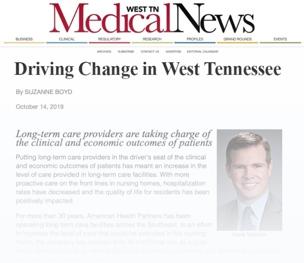 West TN Medical News Article Excerpt w Gradient Fade