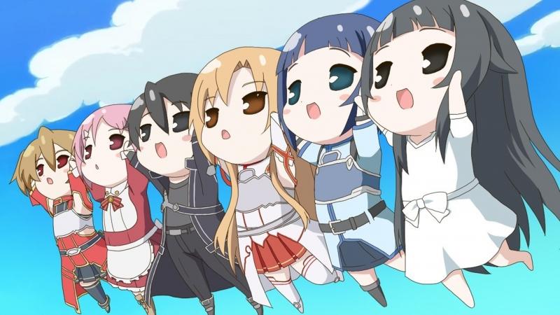 Sword Art Online Characters