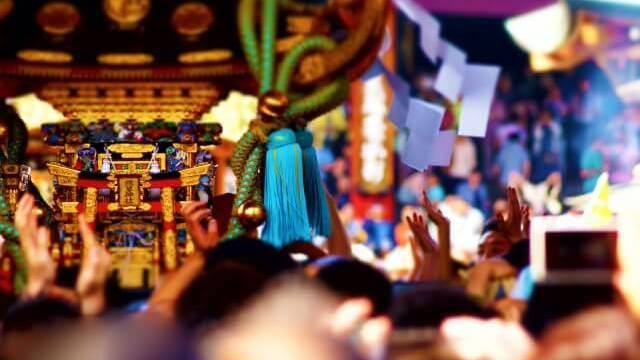 お祭りのお神輿