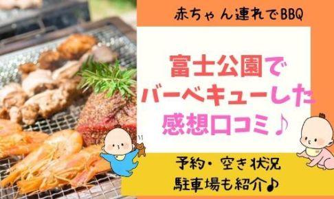 富士公園バーベキューの感想口コミブログ