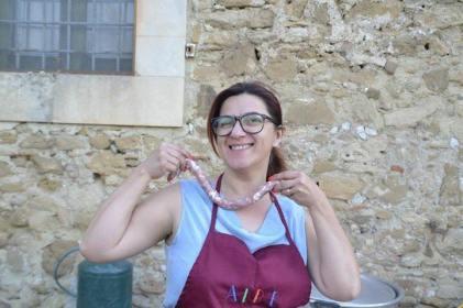 AmiCaFest 2017: Traditional cuisine class and dinner. Santuario della Madonna del Piano, Grammichele (Associazione Triskele)
