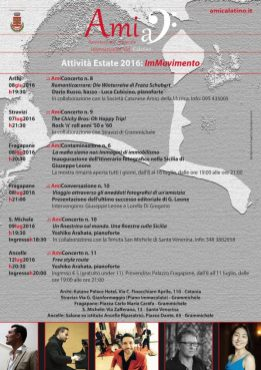 "Summer 2016: ""ImMovimento"" (poster)"