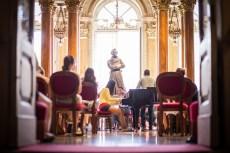 AmiCaFest 2017: Workshop with orchestra. Foyer of Teatro Massimo V. Bellini, Catania