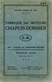Moteur Chapuis Dornier
