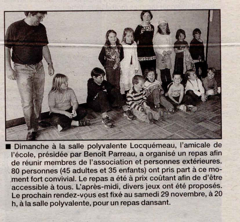 Le Trégor 6 novembre 2008