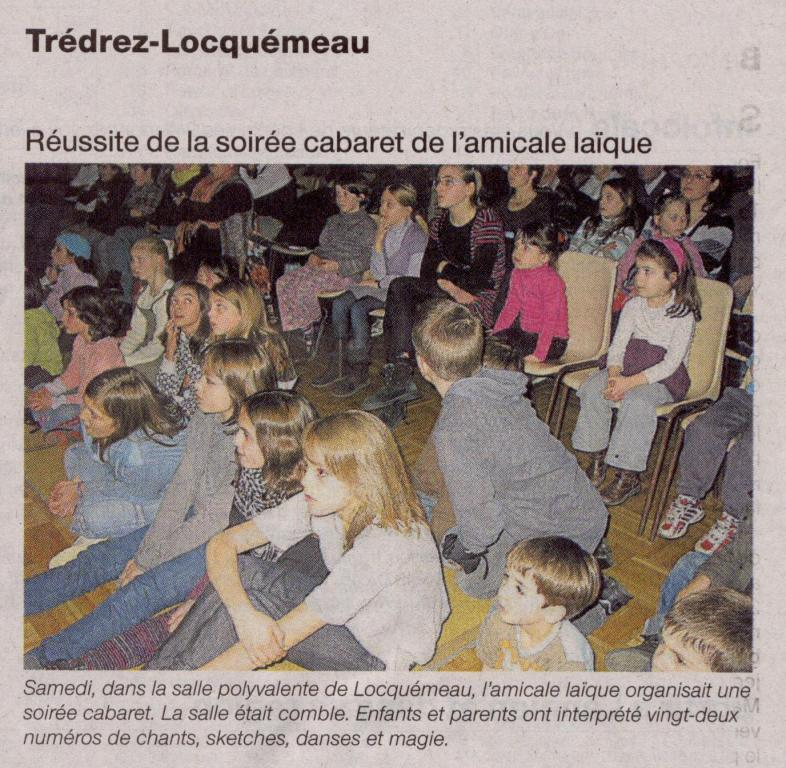 Ouest France 04 février 2009