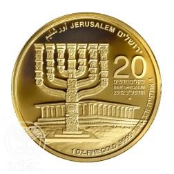 Az izraeli parlament a demokrácia, a menora a kulturális közösség jelképe