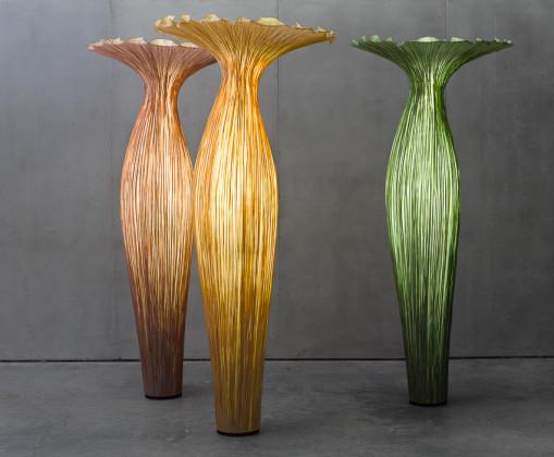 A csodás Aqua Creation - lámpák selyemből