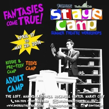 9Works Theatrical Stage Camp Summer Theater Workshops - Adult Camp