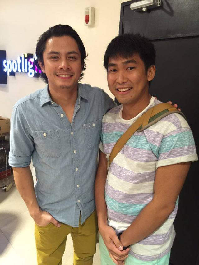 With the amazing JC Santos