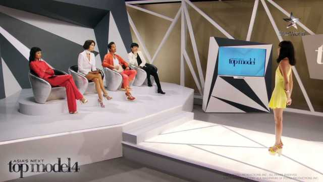 AsNTM4 Episode 9 - Julian in front of the judges