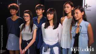AsNTM4 Episode 9 - The girls before the photo shoot