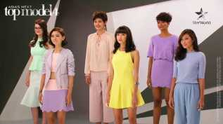 AsNTM4 Episode 9 - The girls wearing pastel at the deliberation