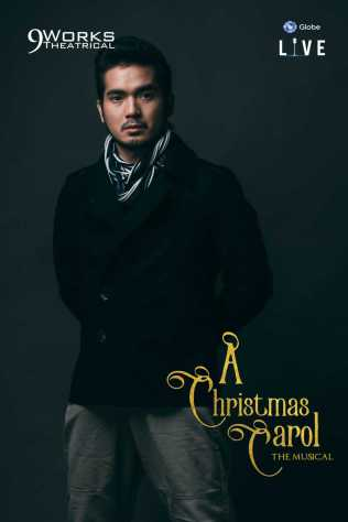 "Al Gatmaitan as Young Ebenezer Scrooge in Alan Menken and Lynn Ahrens' ""A Christmas Carol The Musical"" from 9 Works Theatrical and Globe LIVE!"