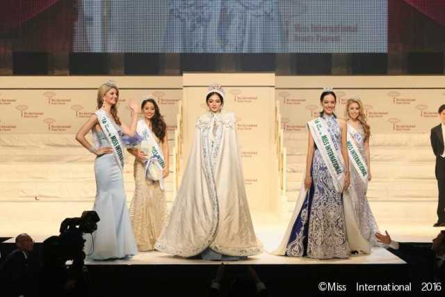 Miss International 2016 Top 5