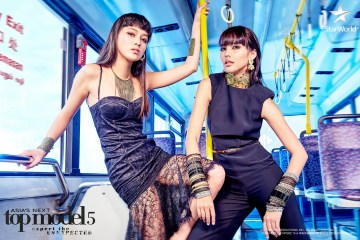 Maureen and Veronika in Asia's Next Top Model Cycle 5 Episode 4 5x04