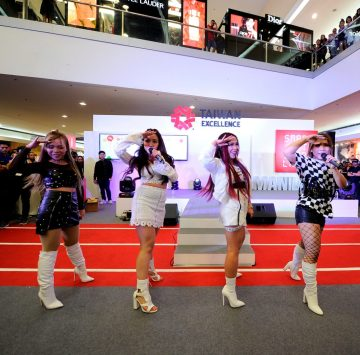 Powerhouse vocal girl group 4th Impact performs at Taiwan Excellence Experience Zone