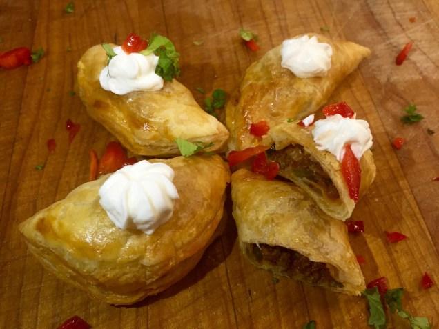 Beef Empanadas (or vice versa with Chicken)