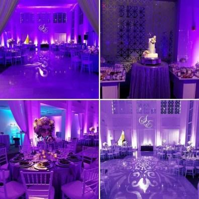 Four Photo View of a Wedding Venue