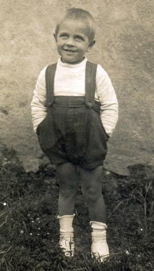 Simó Dot, 1918. Foto: Foto arxiu família Dot.