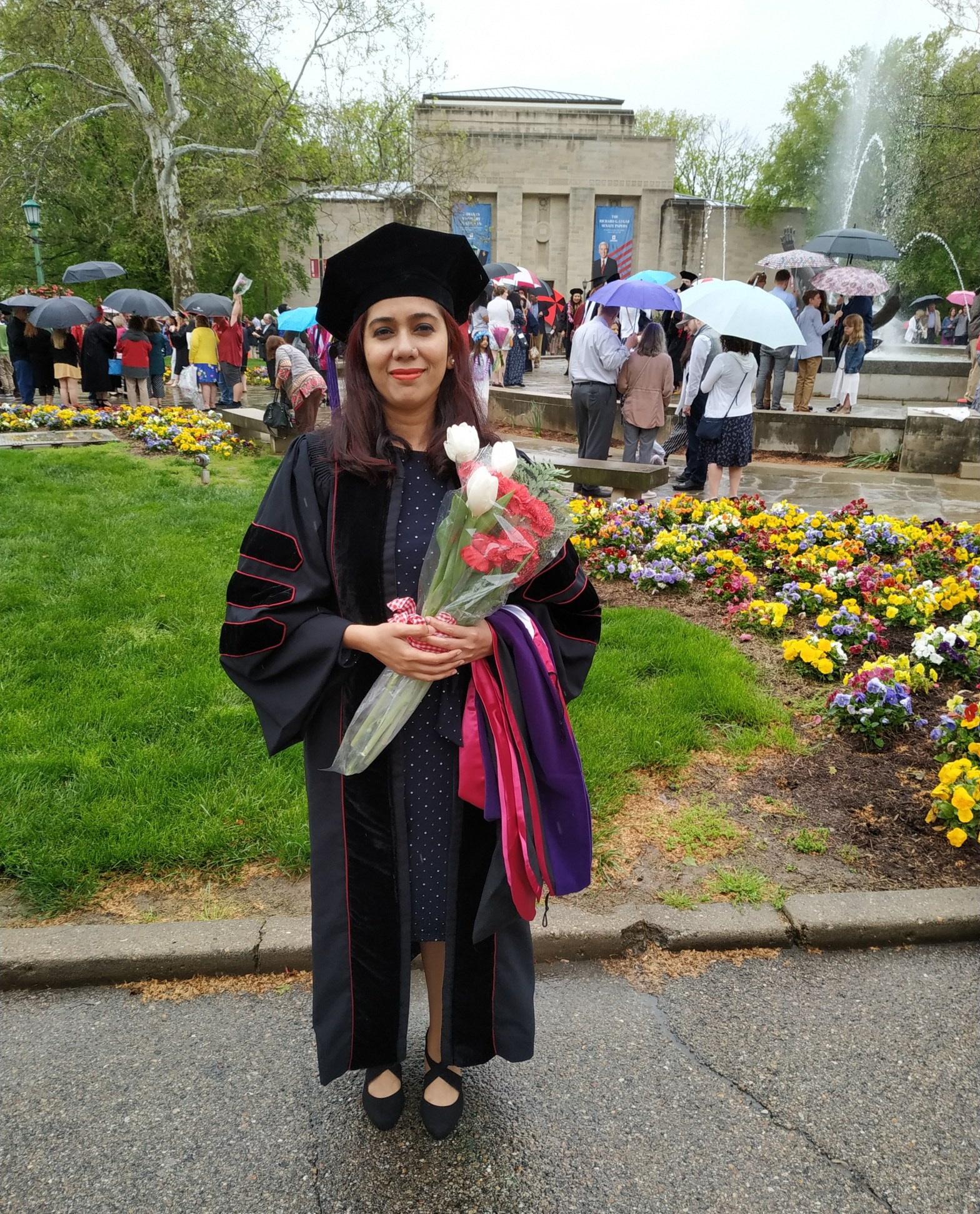 Shezin Hussain shares her LL.M. experience at the Maurer School of Law in Indian University Bloomington.