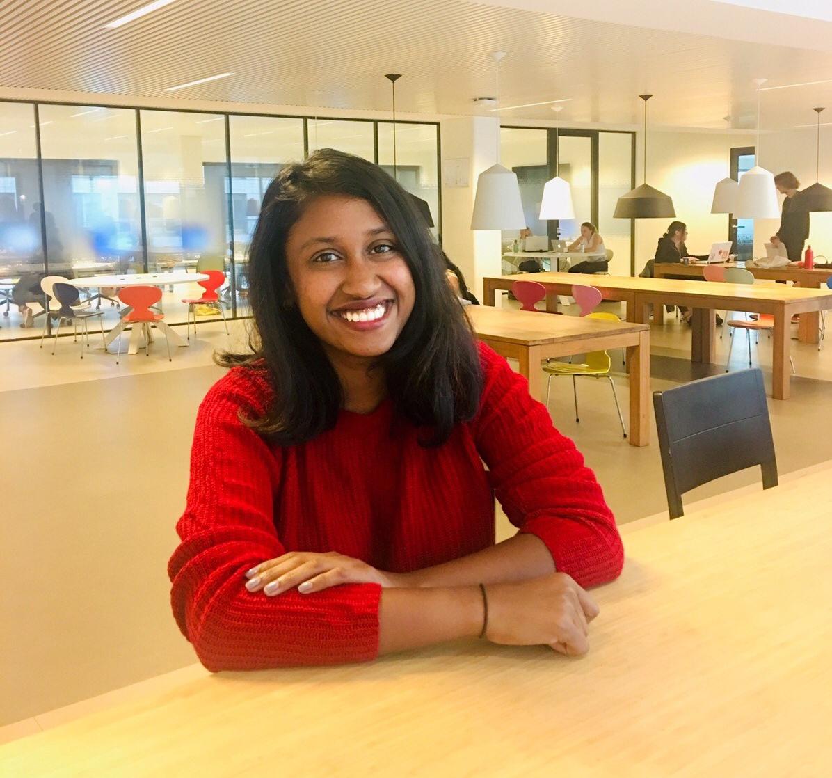 Subha Nivedha on an LL.M. at Leiden University