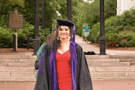 Urvashi Jain on her LLM at University of Georgia