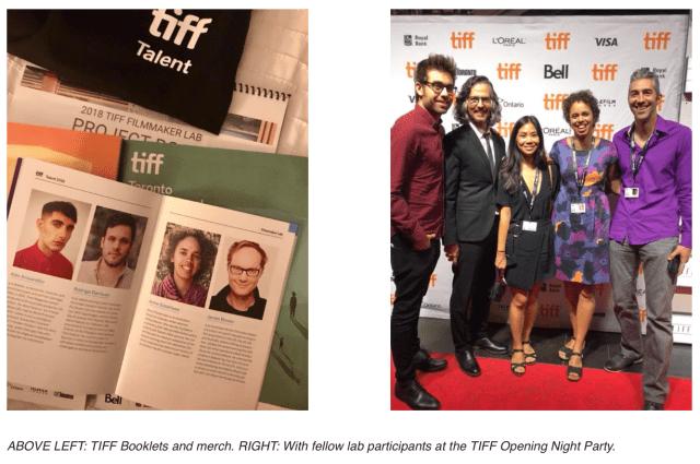 TIFF Filmmaker Lab 2018