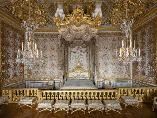 Chambre de la reine Versailles