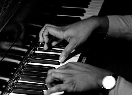 McCoy Tyner's hands