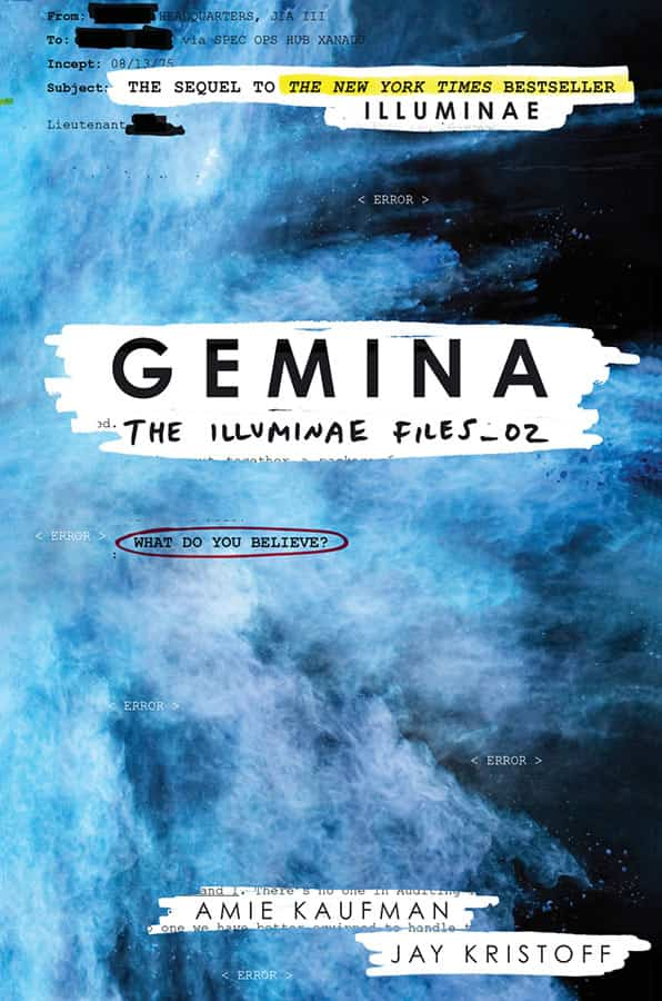 Image result for gemina book