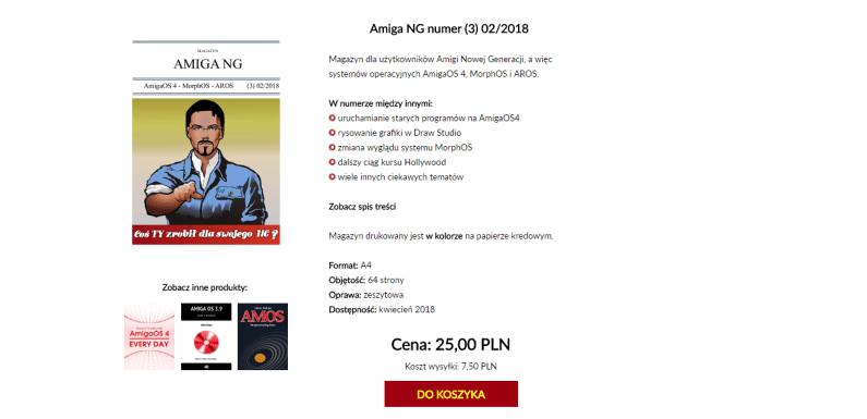 Magazyn Amiga NG  nr 3 – drukiem!
