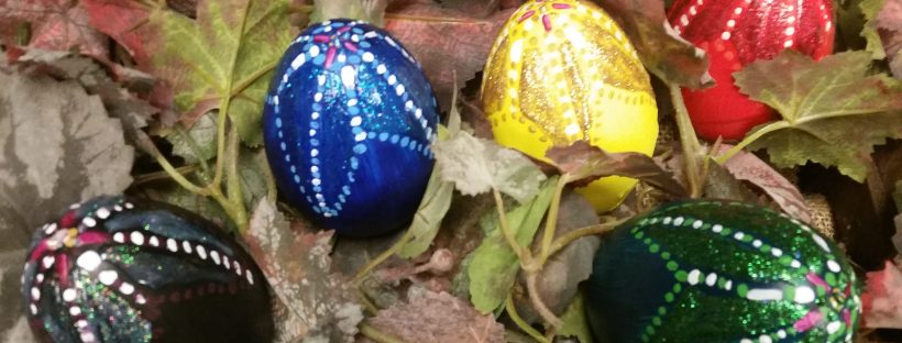 easter dragon eggs