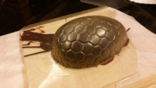 Amiga4all giant easter egg plastic mold flipped mold