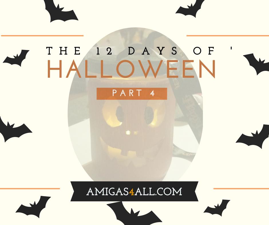 The 12 Days of Halloween-Part 4- Jack O' Lantern!