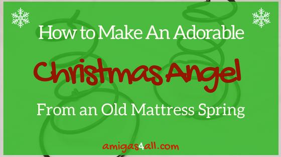 how-to-make-an-adorable christmas angel