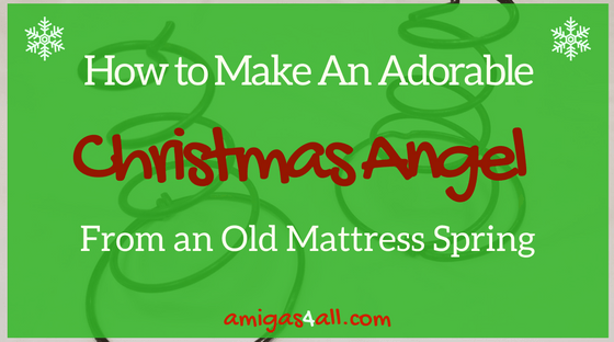 how-to-make-an-adorable christmas angel