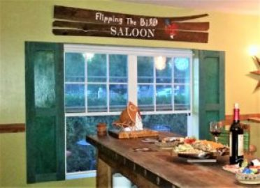 amigas 4all final product flipping the bird saloon indoor wood shutters