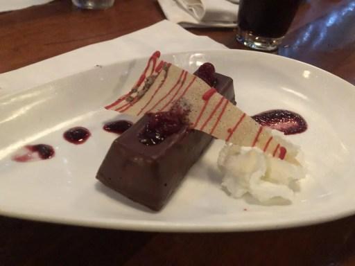 sobremesa de chocolate